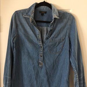 JCrew Denim Shirt Size 6